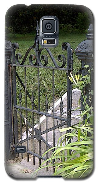 Wrought Iron Gate Galaxy S5 Case
