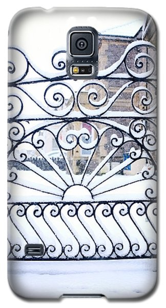 Wrought Iron Snow Galaxy S5 Case