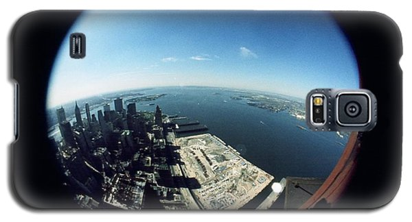 Wtc North Tower Hudson River Galaxy S5 Case