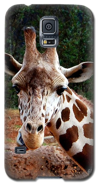 Galaxy S5 Case featuring the photograph Wuz Up Dude by Nancy Bradley