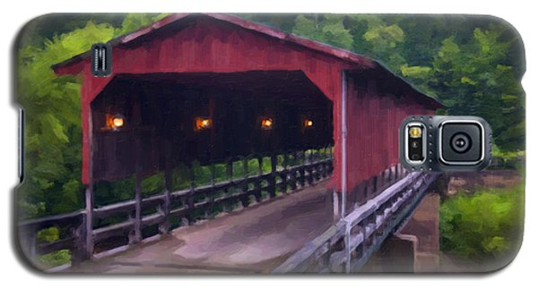 Wv Covered Bridge Galaxy S5 Case
