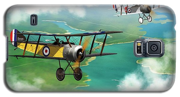 Ww1 British Sopwith Scout Galaxy S5 Case by John Wills