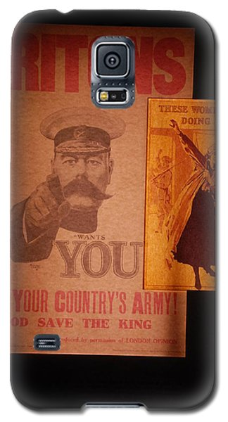 Ww1 Recruitment Posters Galaxy S5 Case
