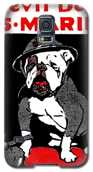 Wwi Marine Corps Devil Dog Galaxy S5 Case by Historic Image