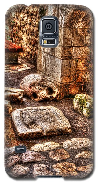 Galaxy S5 Case featuring the photograph Stones That Don't Lie - Israel by Doc Braham