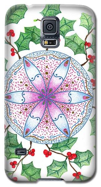 X'mas Wreath Galaxy S5 Case