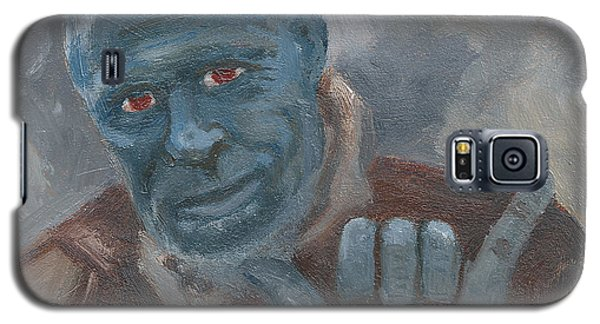Galaxy S5 Case featuring the painting Y Is For Yondu by Jessmyne Stephenson