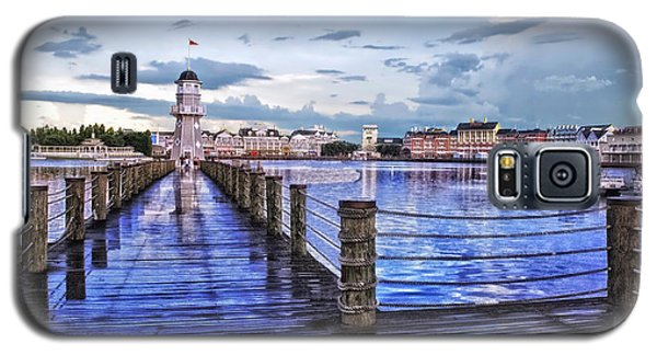 Yacht And Beach Club Lighthouse Galaxy S5 Case by Thomas Woolworth