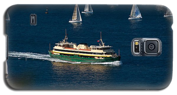 Yachts And Manly Ferry On Sydney Harbour Galaxy S5 Case