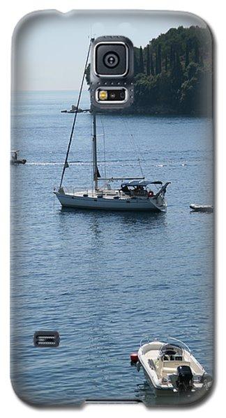 Yachts At Anchor Galaxy S5 Case