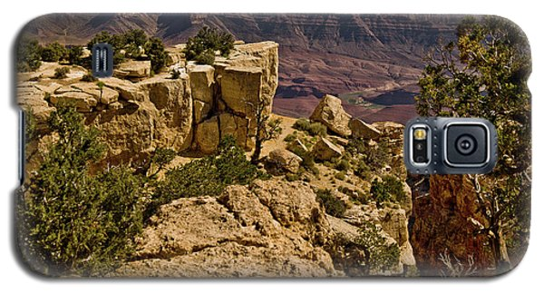 Galaxy S5 Case featuring the photograph Yaki Point 3 The Grand Canyon by Bob and Nadine Johnston