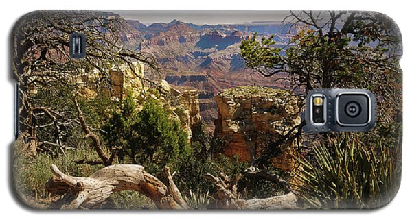 Galaxy S5 Case featuring the photograph Yaki Point 4 The Grand Canyon by Bob and Nadine Johnston