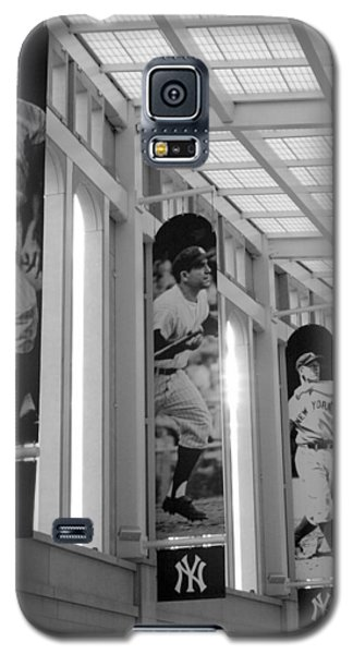 Yankee Greats Of Yesteryear In Black And White Galaxy S5 Case by Aurelio Zucco