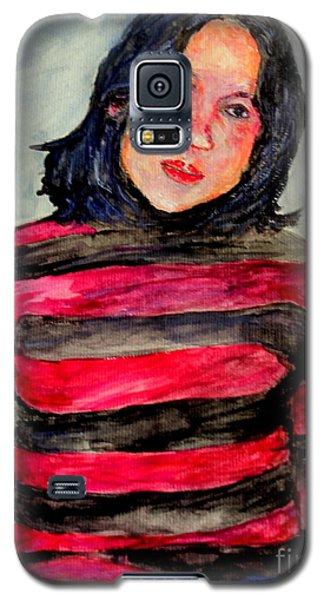 Galaxy S5 Case featuring the painting Yanti P by Jason Sentuf