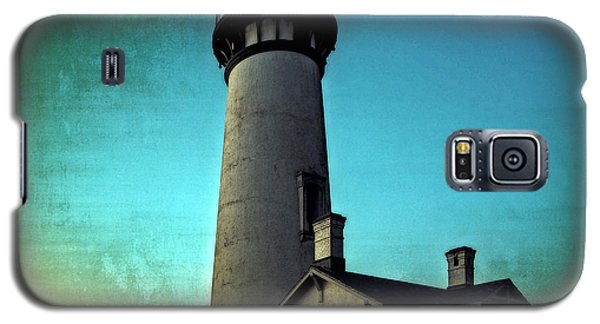 Yaquina Head Lighthouse At Sunset Galaxy S5 Case