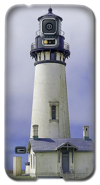 Galaxy S5 Case featuring the photograph Yaquina Head Lighthouse by Dennis Bucklin