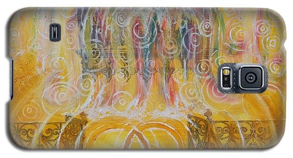 Yaweh El Shaddai Top Canvas Detail Galaxy S5 Case