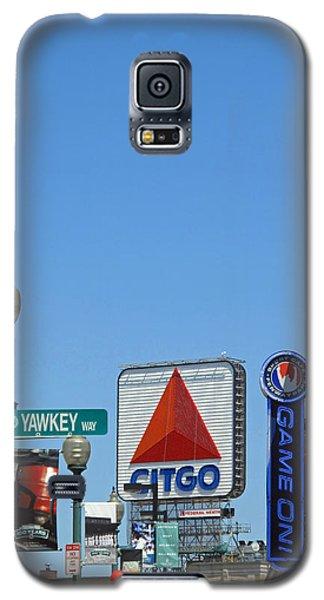 Yawkey Way And Citgo Galaxy S5 Case by Barbara McDevitt
