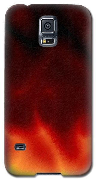 Galaxy S5 Case featuring the digital art Ydinpommi by Jeff Iverson