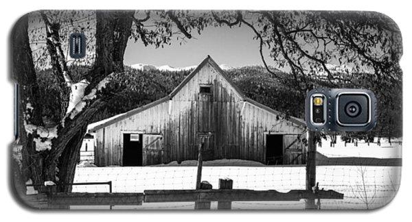 Ye Old Barn Galaxy S5 Case by Randy Wood