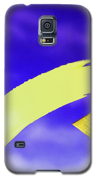 Yellow And Blue Galaxy S5 Case