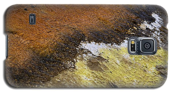 Galaxy S5 Case featuring the photograph Yellow And Orange Converging by Nadalyn Larsen