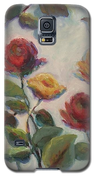 Yellow And Red Roses  Galaxy S5 Case