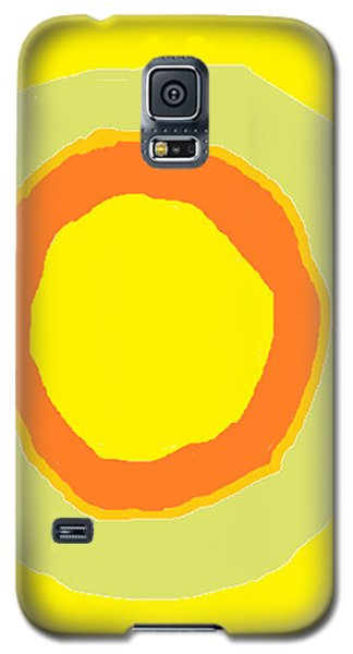 Yellow Galaxy S5 Case by Anita Dale Livaditis