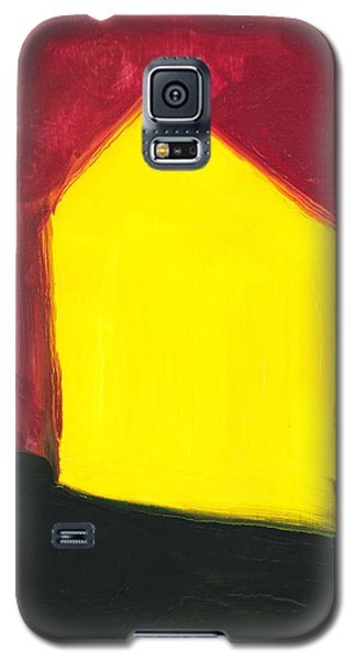 Yellow Arthouse Galaxy S5 Case