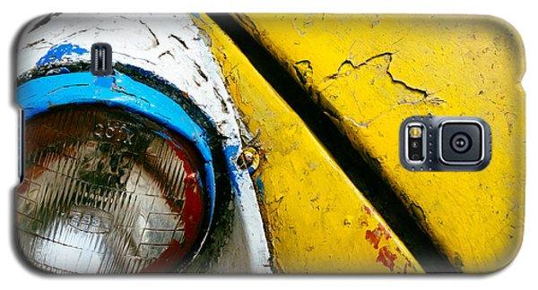 Yellow Auto Rickshaw Galaxy S5 Case