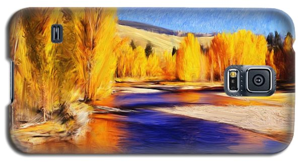 Yellow Bend In The River II Galaxy S5 Case