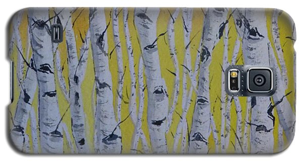 Yellow Birch Galaxy S5 Case