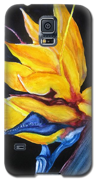 Yellow Bird Galaxy S5 Case by Lil Taylor