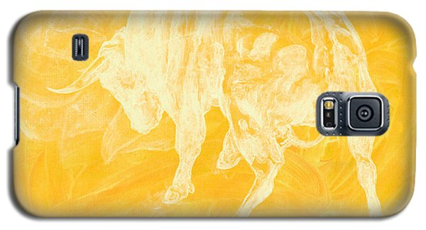 Yellow Bull Negative Galaxy S5 Case