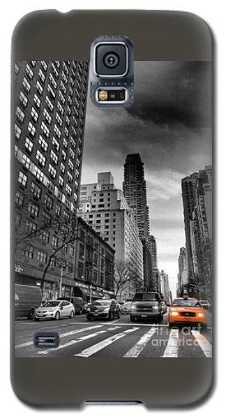 Yellow Cab One - New York City Street Scene Galaxy S5 Case