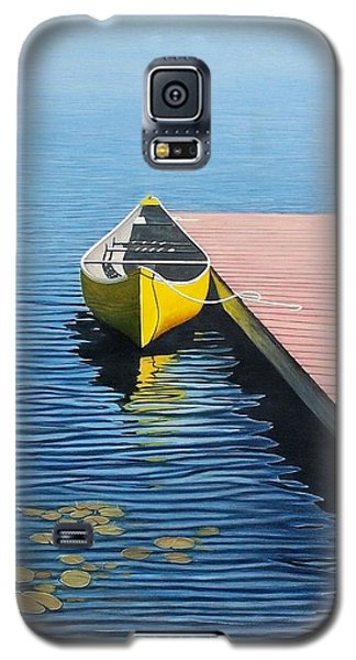 Yellow Canoe Galaxy S5 Case