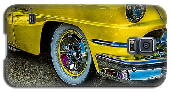 Galaxy S5 Case featuring the photograph Yellow Car by Jay Stockhaus