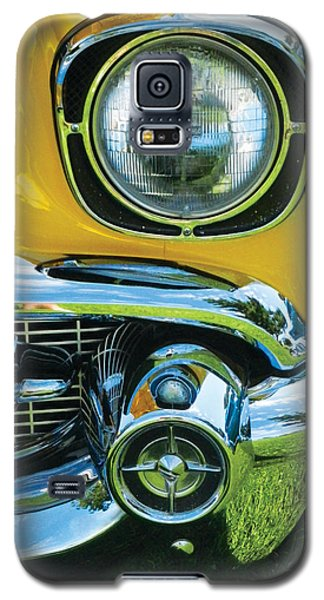 Yellow Chevy Galaxy S5 Case