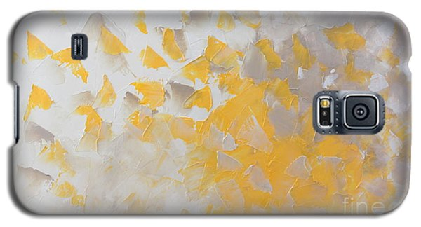 Yellow Cloud Galaxy S5 Case