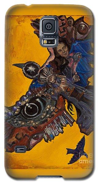 Yellow Crow Galaxy S5 Case