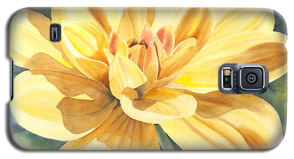 Yellow Dahlia Galaxy S5 Case