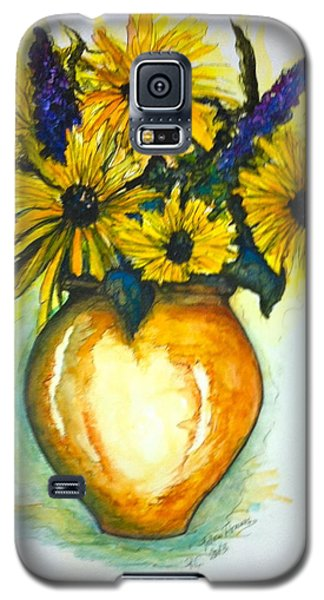Yellow Daisies Galaxy S5 Case
