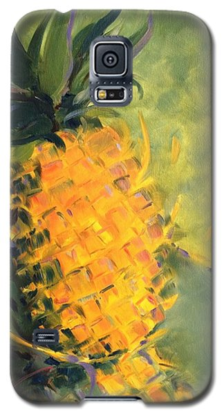 Yellow Dancing On Green Galaxy S5 Case