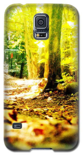 Yellow Discin Day Galaxy S5 Case