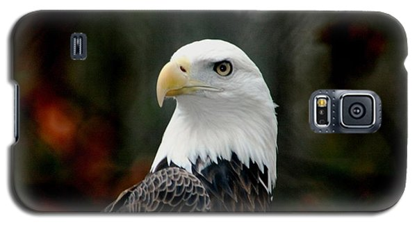 Galaxy S5 Case featuring the photograph Yellow Eye by Steve Godleski
