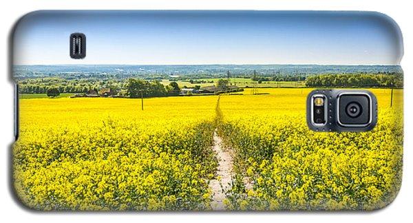 Yellow Fields. Galaxy S5 Case