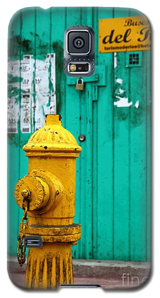 Yellow Fire Hydrant Galaxy S5 Case
