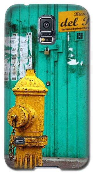 Yellow Fire Hydrant Galaxy S5 Case
