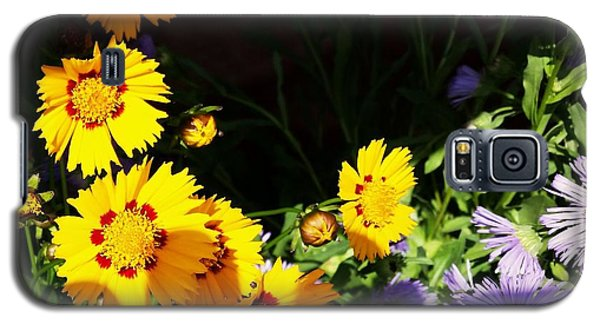 Galaxy S5 Case featuring the photograph Yellow Flower by Rose Wang