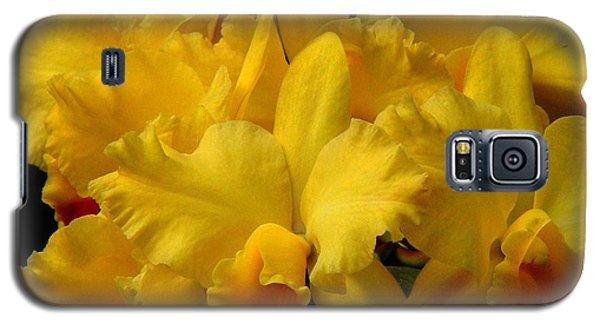 Yellow Folds Galaxy S5 Case